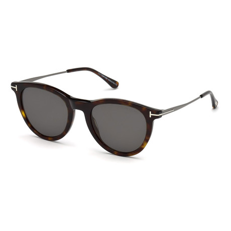 Unisex Kellan Sunglasses // Dark Havana + Smoke
