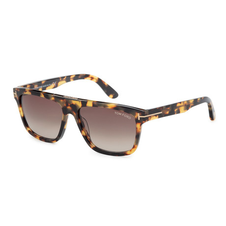 Men's Cecilio Sunglasses // Havana + Roviex Gradient