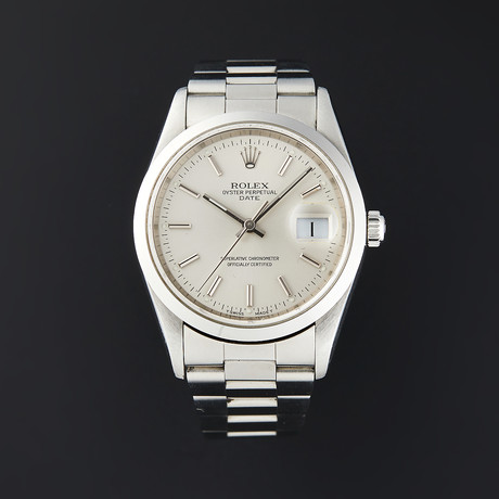 Rolex Date Automatic // 15200 // A Serial // Pre-Owned