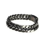 Dell Arte // Chain Bracelet + Snap Lock
