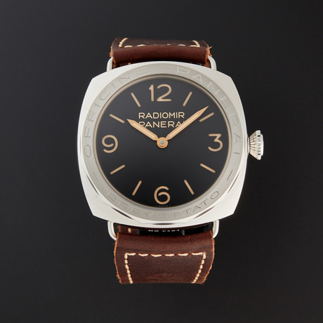 Panerai Radiomir 3 Days Acciaio Brevettato Manual Wind // PAM 117 // Pre-Owned