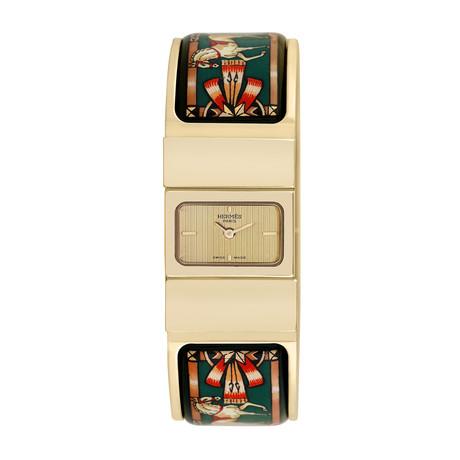 Hermès Ladies Loquet Bangle Quartz // L01.201 // Pre-Owned