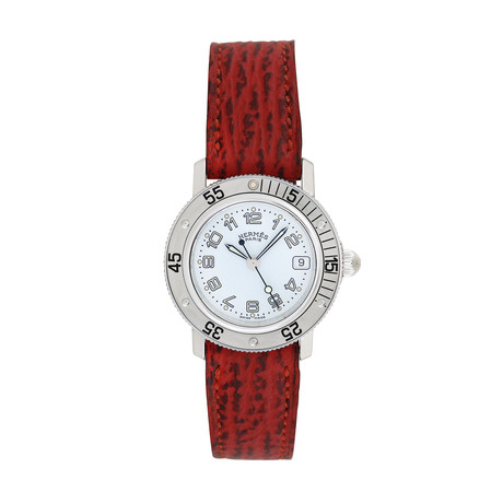 Hermès Ladies Clipper Quartz // CL5.210 // Pre-Owned