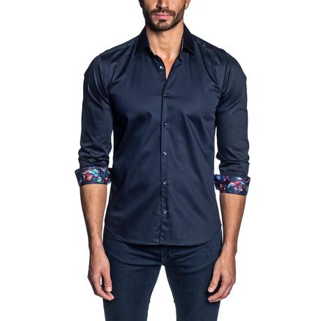 Long Sleeve Shirt // Dark Navy (S)