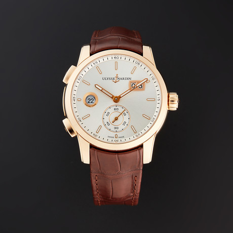 Ulysse Nardin Dual Time Manufacture Automatic // 3346-126/91 // Unworn