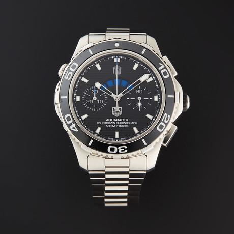 Tag Heuer Aquaracer 500M Countdown Chronograph Automatic // CAK211A.FT8019 // Store Display