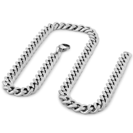 "Fibra Chain // Silver Finish // 9mm (15.75"")"