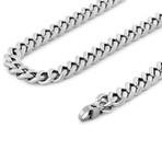 """Fibra Chain // Silver Finish // 9mm (15.75"""")"""