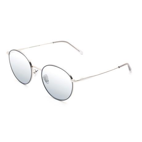 Unisex Europa Sunglasses // Silver Ombre