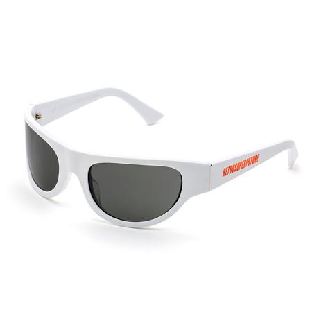 Men's Reed Sunglasses // White