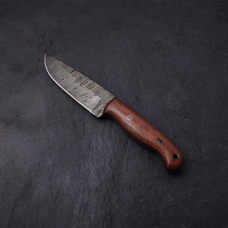 Rose Wood Hunting Knife // 01