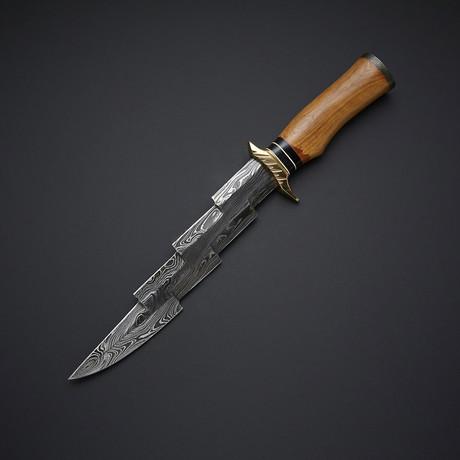 Zigzag Olive Wood Hunter // 19