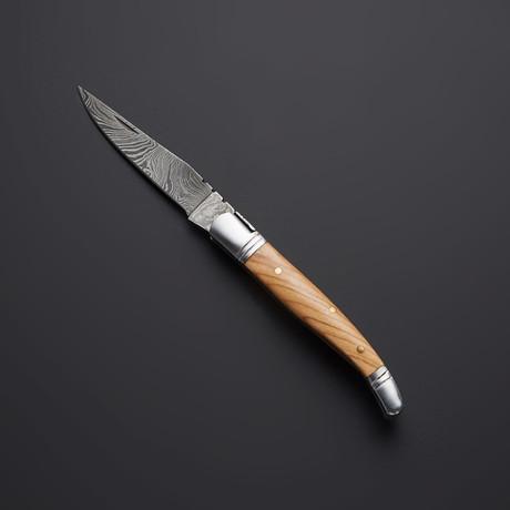 Olive Wood Pocket Knife // 20
