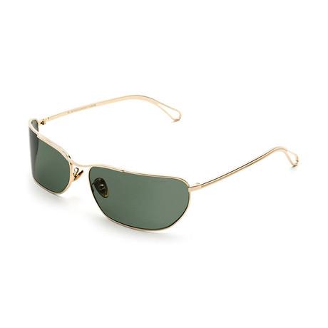Unisex Zebedia Sunglasses // Green