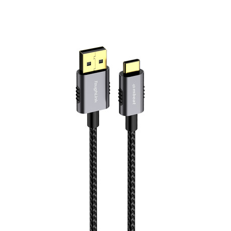 mbeat ToughLink // 1.8m Premium Braided USB-C to USB-A Cable