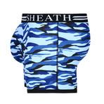 Sheath Camouflage Dual Pouch Boxer Brief // Ocean Blue (Small)