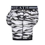 Sheath Camouflage Dual Pouch Boxer Brief // Winter Gray (Small)