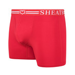 Sheath 4.0 Dual Pouch Boxer Brief // Red (Medium)