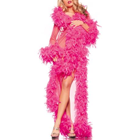 Glamour Robe // Hot Pink