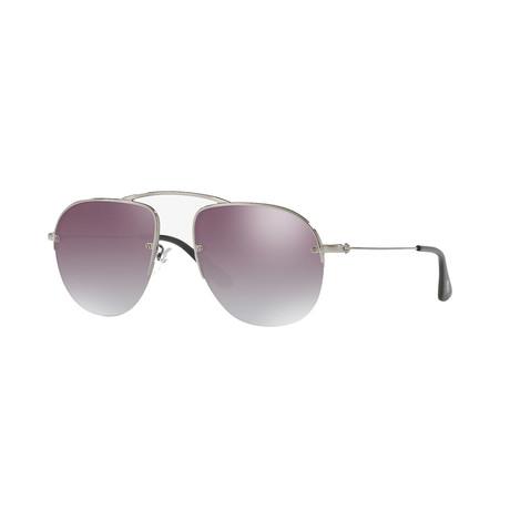 Unisex Sunglasses // Gunmetal + Gray + Silver
