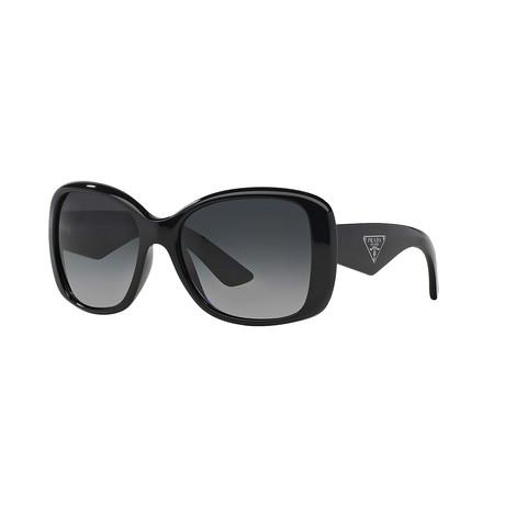 Unisex Sunglasses // Black + Gray