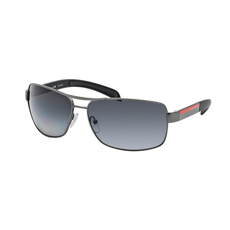 Unisex Sunglasses // Gunmetal + Gray Gradient