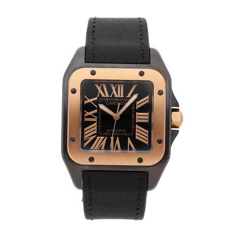 Cartier Santos 100 Automatic // W2020009 // Pre-Owned