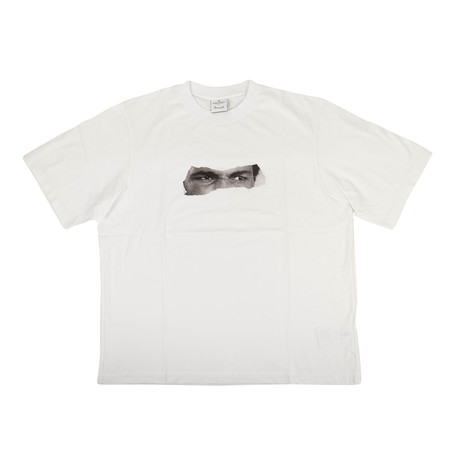 Men's Ali Eyes T-Shirt // White (XXS)