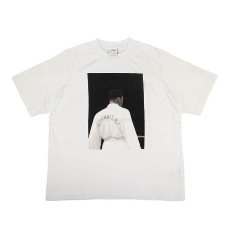 Men's Ali Back T-Shirt // White (XXS)