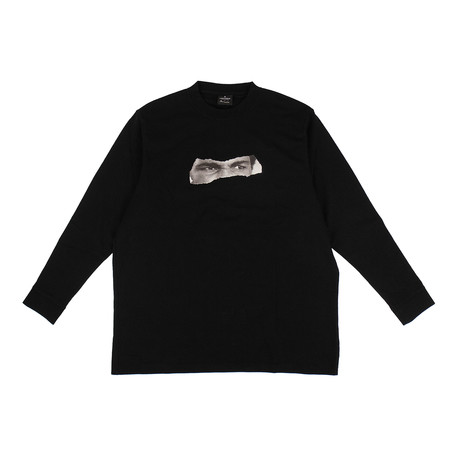 Men's Ali Eyes T-Shirt // Black (XXS)