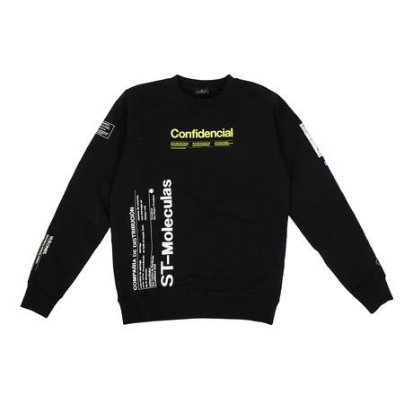 Men's Confidential Sweatshirt // Black (XXS)