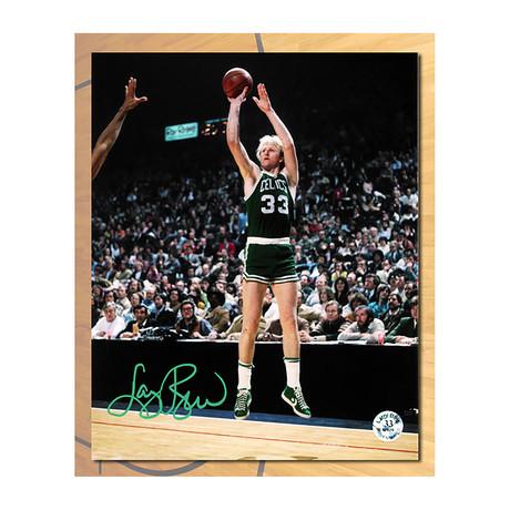 Larry Bird // Boston Celtics // Autographed Photo