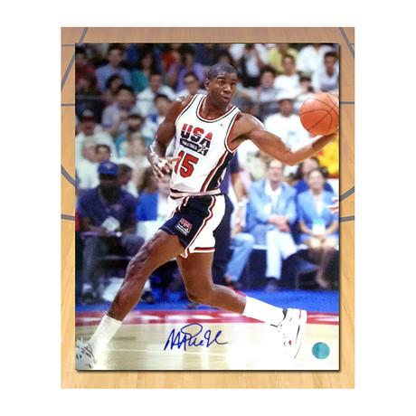 Magic Johnson // Team USA 1992 // Autographed Photo