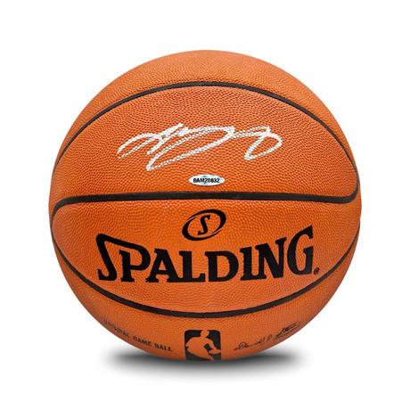 Lebron James // Autographed Basketball