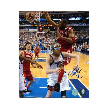 "Tracy McGrady // Houston Rockets // Autographed Photo (8""L x 10""H)"