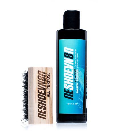 Advanced Shoe Cleaner & Conditioner + All Purpose Brush
