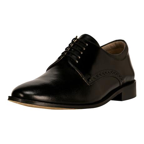 Boseman Plain-Toe Dress Shoes // Black (US: 6.5)