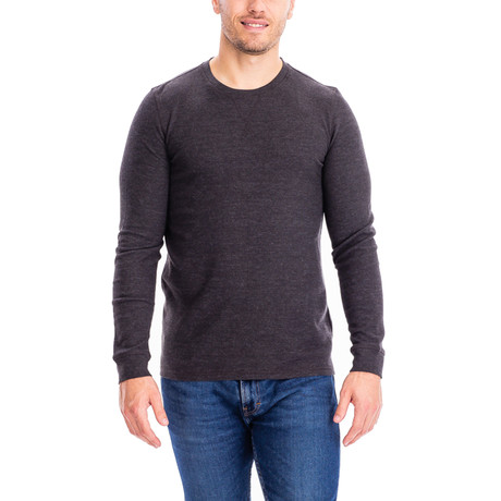 Thermal Long Sleeves Crew Neck // Charcoal (S)