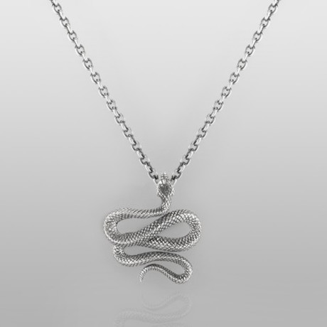 """Trust Necklace // Sterling Silver // 19.7"""" Chain"""