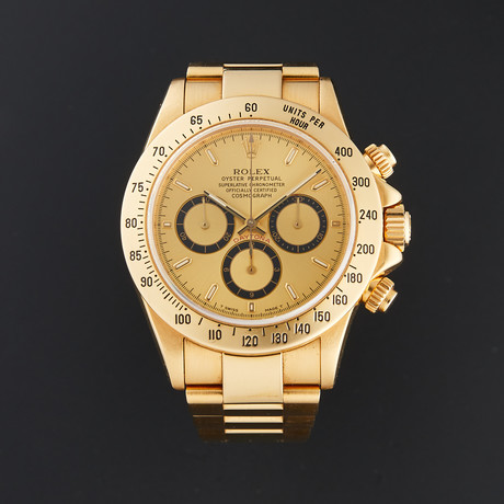 Rolex Zenith Daytona Cosmograph Automatic // 16528 // W Serial // Pre-Owned