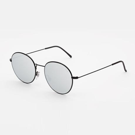 Unisex Wire Sunglasses // Silver