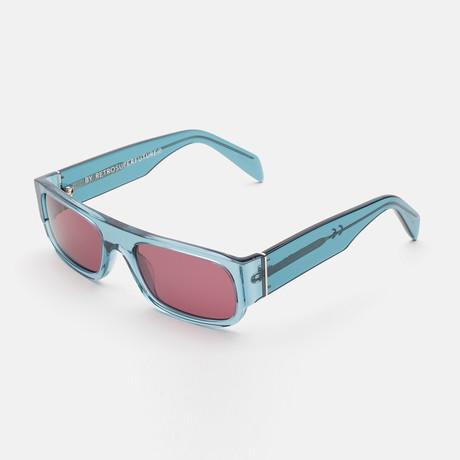 Unisex Smile Sunglasses // Blue