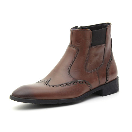 Lewis Dress Boot // Tobacco (Euro: 39)