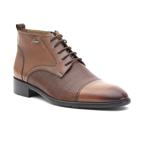 Dave Dress Boot // Tobacco (Euro: 37)