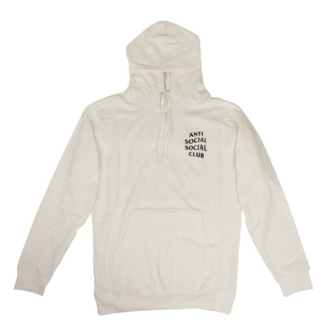 ASSC' Logo Hooded Sweatshirt // White (S)