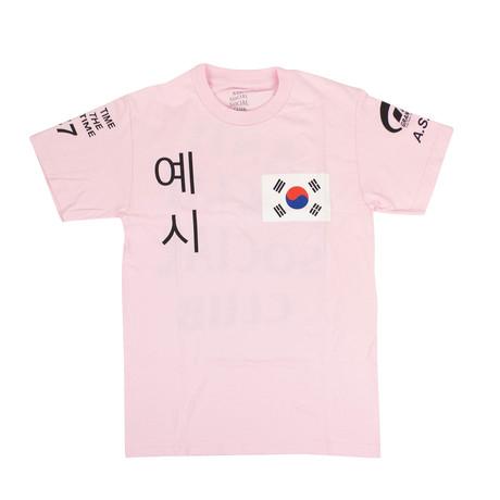 ASSC x Gran Turismo T-Shirt // Pink (S)