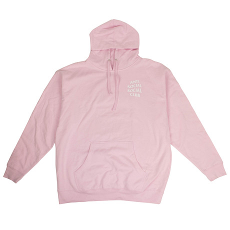 ASSC' Logo Hooded Sweatshirt // Pink (S)