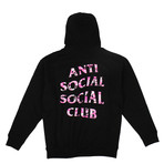 Anti Social Social Club x Undefeated // Camo Hooded Sweatshirt // Black (S)