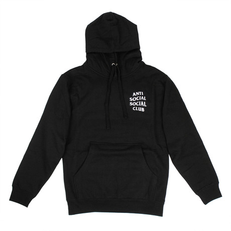 ASSC' Logo Hooded Sweatshirt // Black (S)