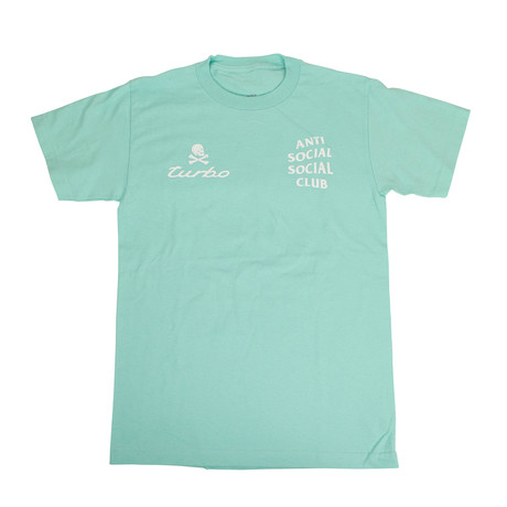Turbo ASSC Logo T-Shirt // Teal (S)